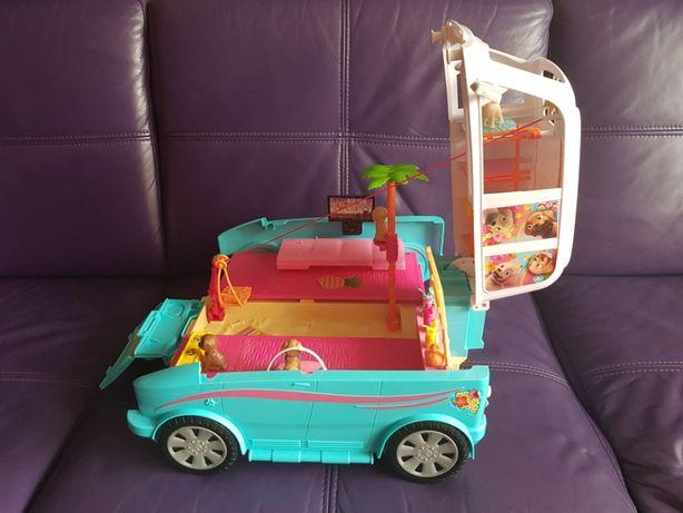 Barbie i Pieski - Wakacyjny Kamper, rozkładany, 100% kompletny, Mattel