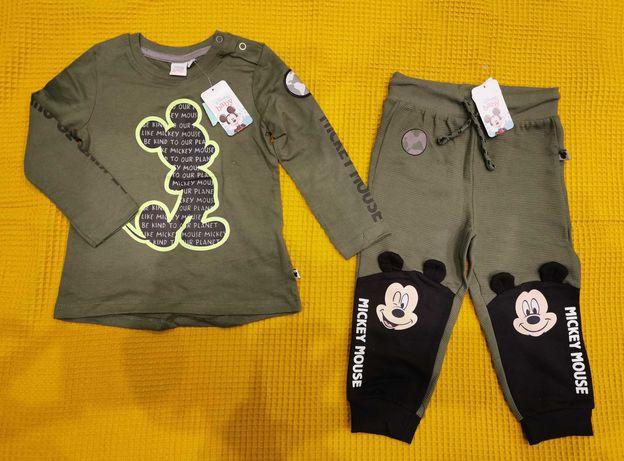 Nowy zestaw chłopięcy, koszulka / bluzka / bluza oraz spodnie