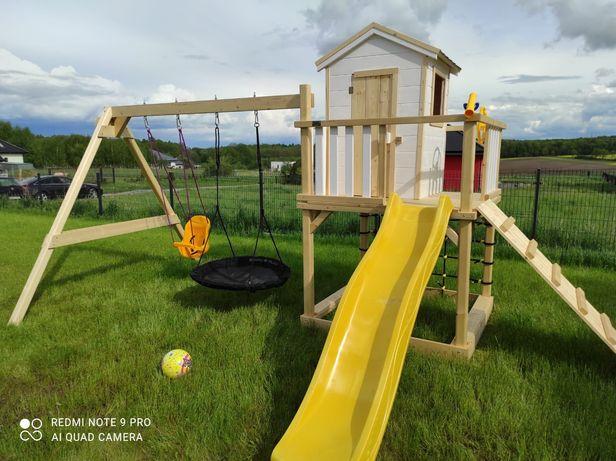Drewniany plac zabaw domek dla dzieci model SCOOBY-DOO DrewDomki