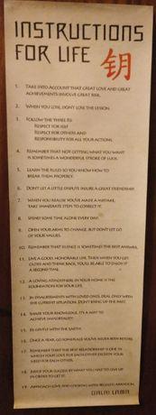 """""""Instructions for life"""" – Dalai Lama"""