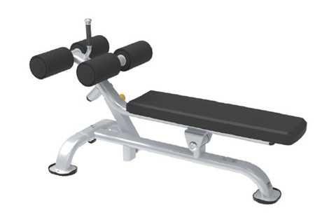 Ławka do ćwiczenia mięśni brzucha adjustable ab bench