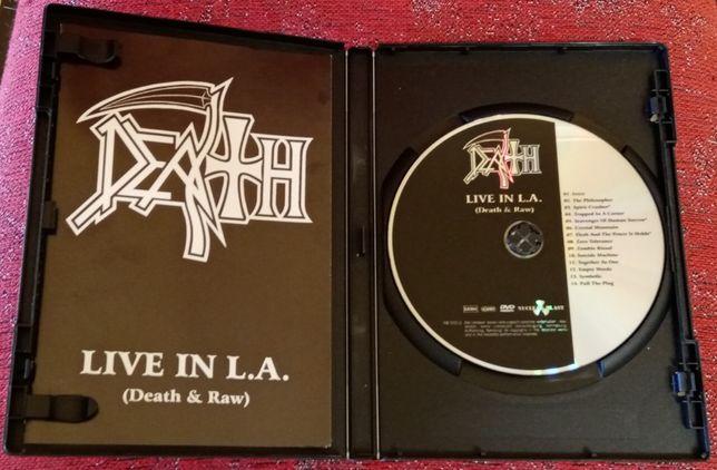 DEATH Live in L.A. (Death & Raw) [DVD Edição Limitada, coleccionável)