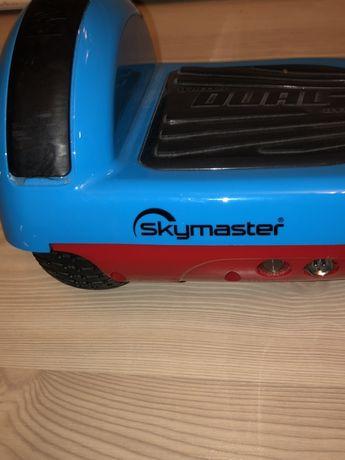 Deskorolka elektryczna Skymaster 6 Dual (nieb-czer)