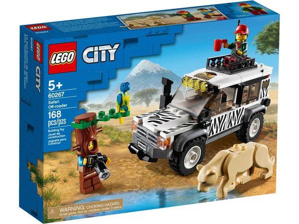 Конструктор LEGO 60267 City Внедорожник для сафари Safari Off-Roader