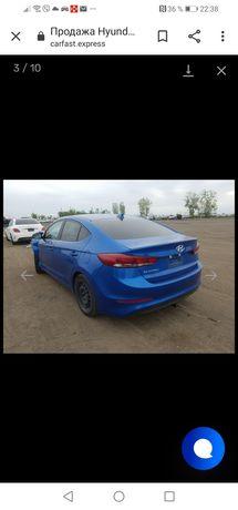 Разборка Hyundai Elantra AD