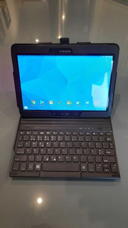 Teclado Bluetooth e capa Kensington para tablet Samsung Galaxy 10.1