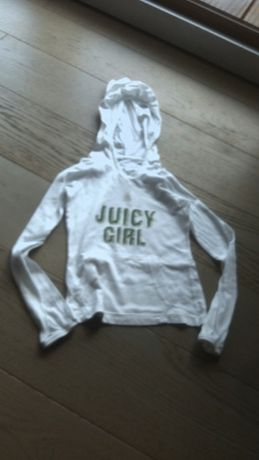 bluza dla dziewczynki z kapturem JUICY COUTURE oryginalna 104 4 lata