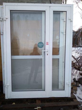 Drzwi aluminiowe wewnętrzne  152 x 210 używane 150 x 210