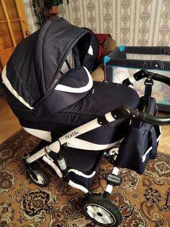 дитяча коляска універсальна 2в1