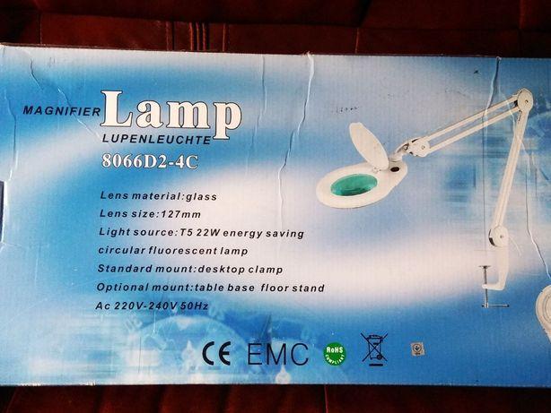 Лампа лупа нова