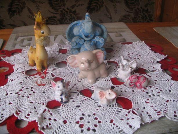 Słoniki na szczęście i drewniane ozdoby - zabawki, dekoracje