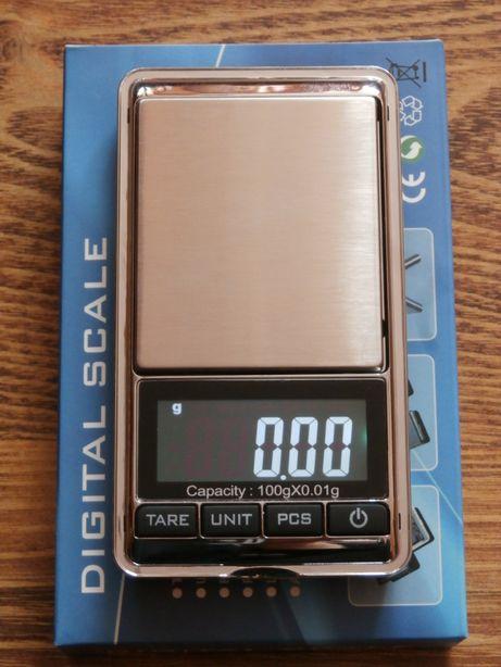 Высокоточные электронные весы Digital Scaleот 0.01 до 100 грамм.