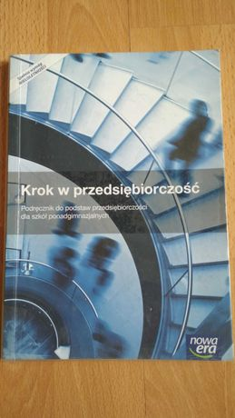 Krok w przedsiębiorczość podręcznik do podstaw przedsiębiorczości