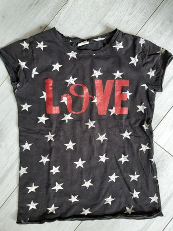Bluzka t-shirt zara r.140