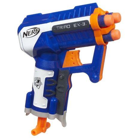 Бластер Nerf Triad EX-3