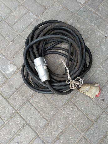 Kabel siłowy uzbrojony 32A 20 metrów