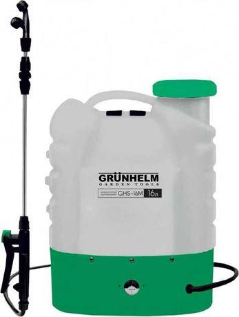 Аккумуляторный опрыскиватель Grunhelm GHS-16M (2021 год)