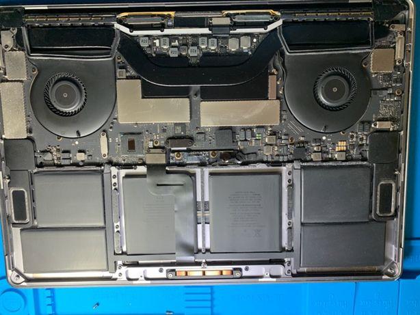Заміна термопасти, чистка MacBook