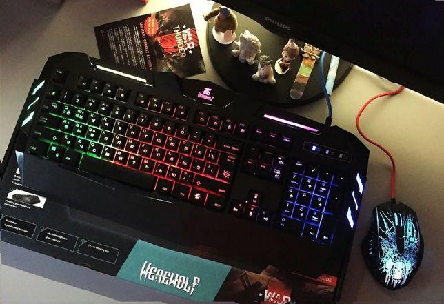 Игровая Клавиатура Defender с подсветкой