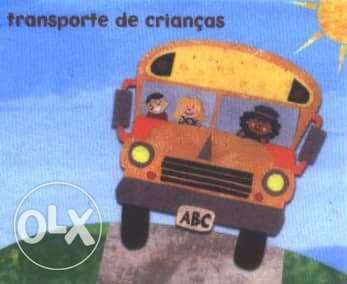 Transporte crianças personalizado Linha Cascais