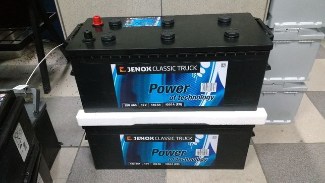 Akumulator Jenox Classic Truck 180Ah 1050A TIR ciągnik siodłowy Kraków