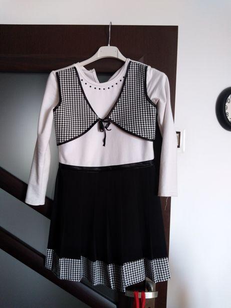 Sukienka dziewczynka ok 146