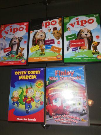 Bajki DVD, Vipo, Finley.