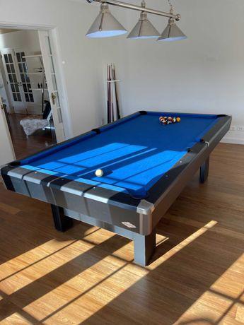 Mesa de Snooker BRUNSWICK - Oferta candeeiro / Tacos e Suporte