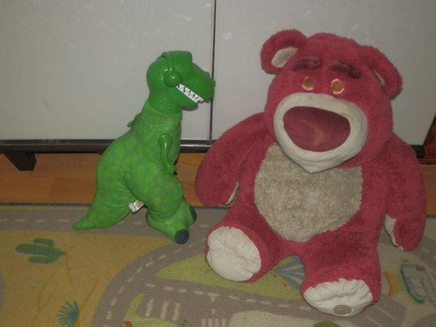 Мишка лотос и динозавр рекс. история игрушек