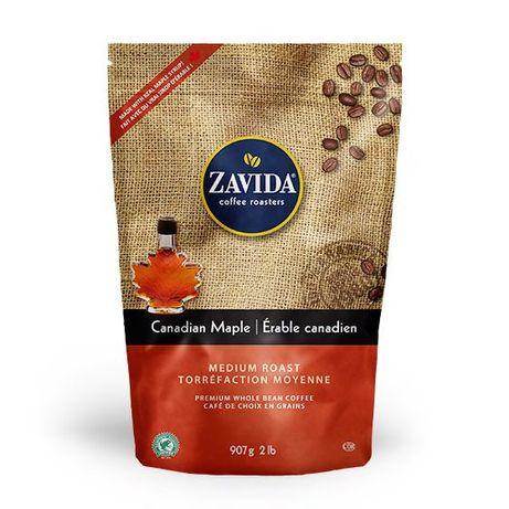 """Кофе Zavida Canadian Maple """"Кленовый Сироп"""" 907 грамм Обжарка Светлая"""