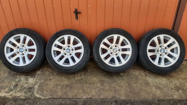 Felgi aluminiowe 16 5x120 BMW 3 Opony letnie 205/55 16