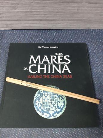 Livro Colecção Ctt com 6 selos, ano 1999. Pelos Mares da China.