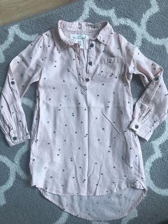 Sukienka koszulowa h&m r.116