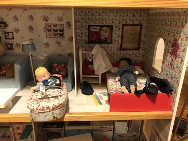 Casa de bonecas espetacular