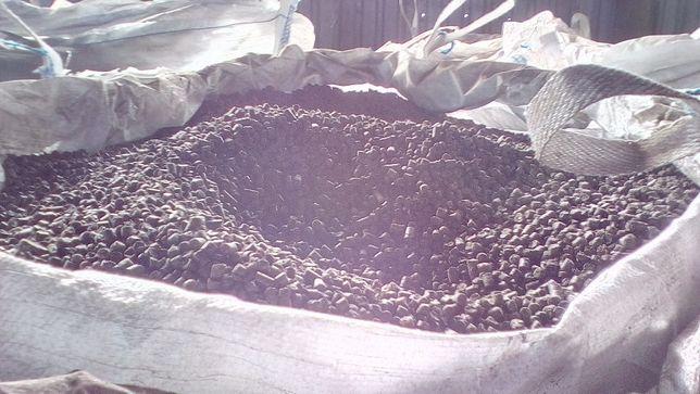 Пеллеты из лузги подсолнечника 3000грн. Брикеты 3200. Аналог - уголь