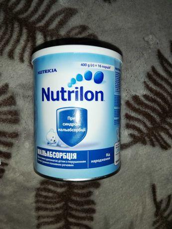 Смесь Nutrilon мальабсорбция 0 +  290грн или обмен на подгузники