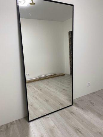 Зеркало настенное в металлической раме. Напольное в стиле LOFT