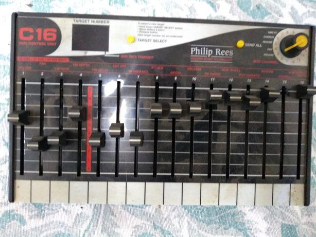 Philip rees C16 kontroler MIDI