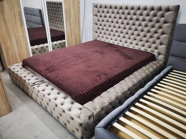 Ліжко Лакшері двоспальне, з підйомним механізмом, мяка спинка!