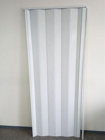 Дверь раздвижная-гармошка БЕЛЫЙ ЯСЕНЬ ширина 1 м