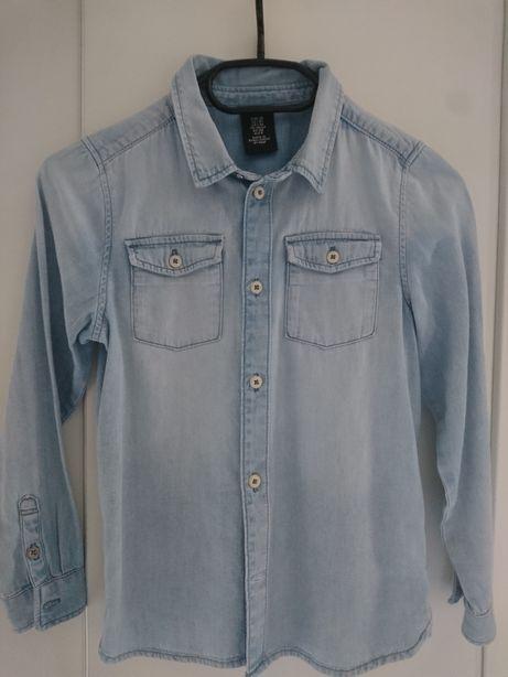 Koszula jeans h&m 128!