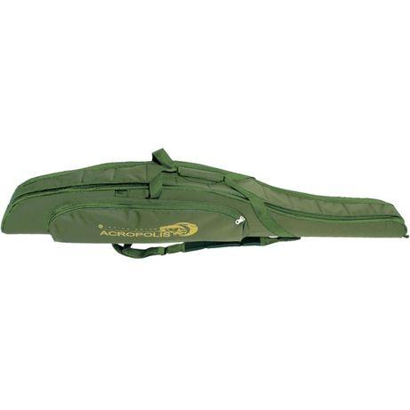 Рыбацкий жесткий футляр чехол для спиннингов Acropolis КВ-11а 145см