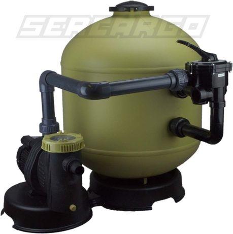 Bomba Piscina com Filtro de areia + Pré-Filtro 800w / 16000 L/h