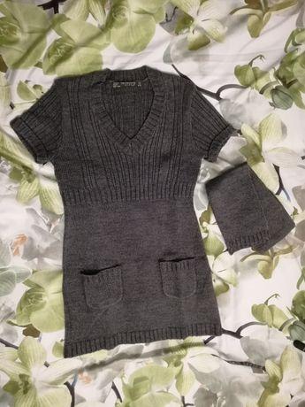 Sukienka/Tunika Terranova 128-134cm szara, jak nowa/dziewczynka 8-9lat