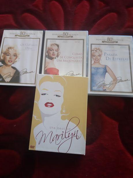 DVDs filmes Marilyn Monroe