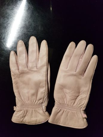 Rękawiczki z naturalnej skóry, S