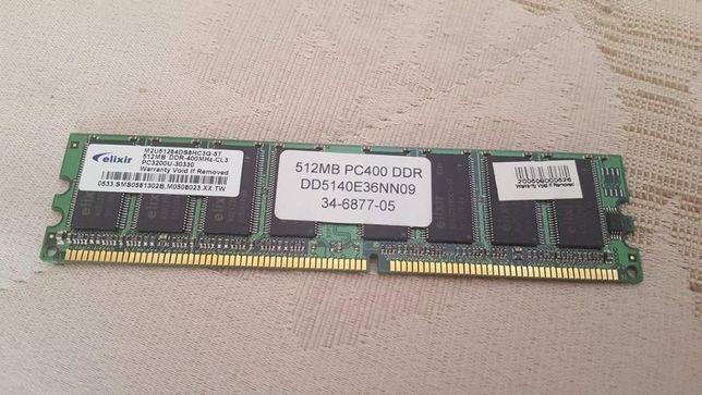 Memória 512MB PC400 DDR