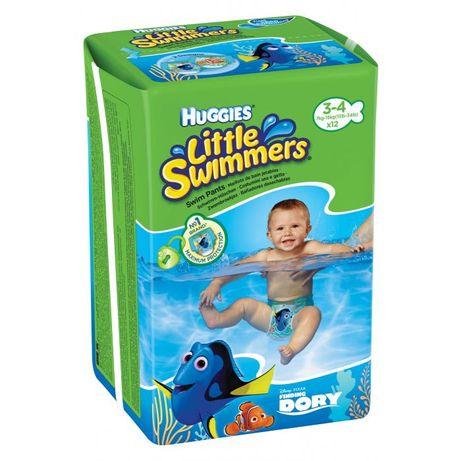 Трусики для плавання 6 шт Huggies Little Swimmers розмір 3-4, 7-15 кг