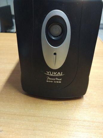 USP источник бесперебойного питания Yukai PowerMust 600 Mustek