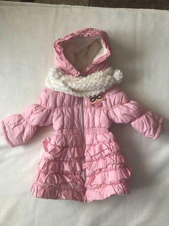 Пальто для девочки (весна-осень) рост 116